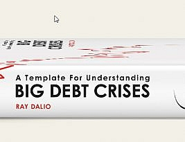Ray Dalio oferece livro – A Template For Understanding Big Debt Crises